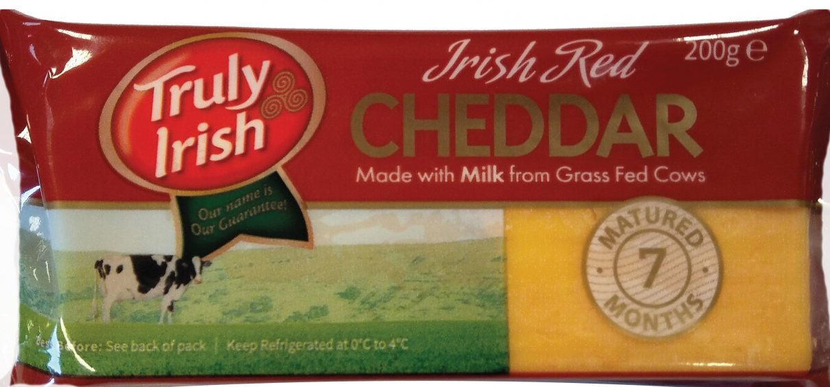 Irish Red Cheddar 200g