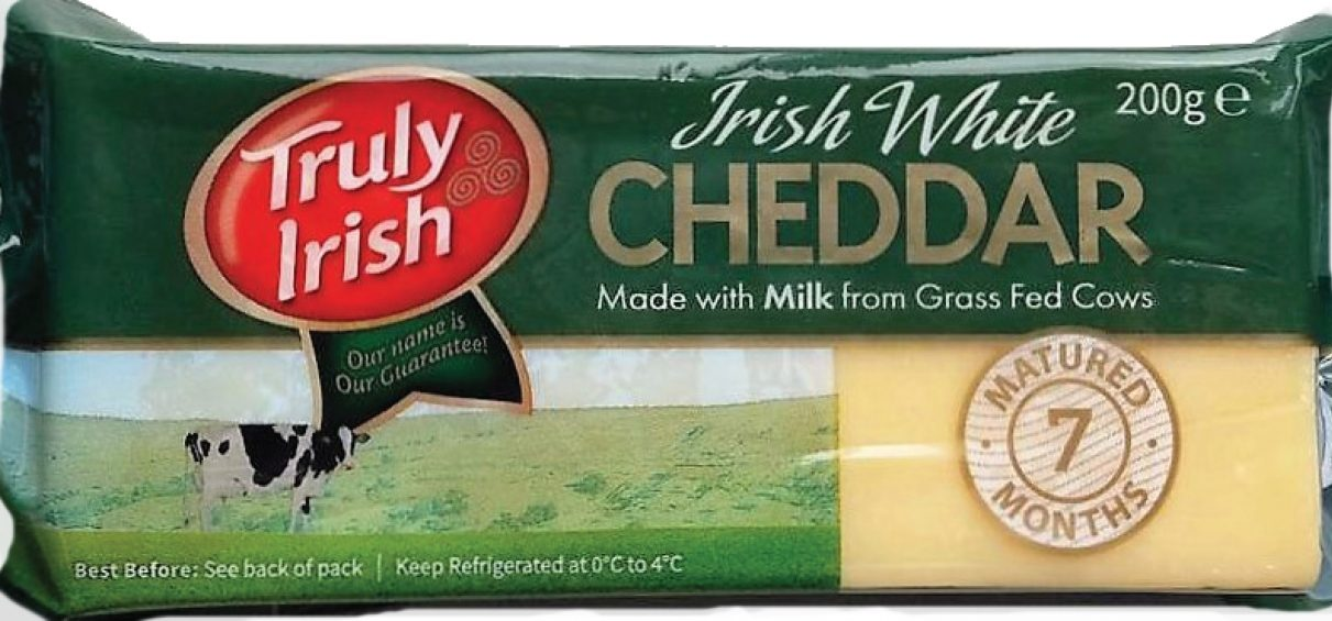 Irish White Cheddar 200g